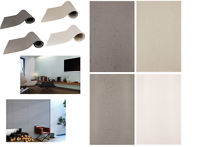 ✔️ Architectural concrete TILES FLEXIBLE wall Luxury Panels Quality SAMPLES ✔️