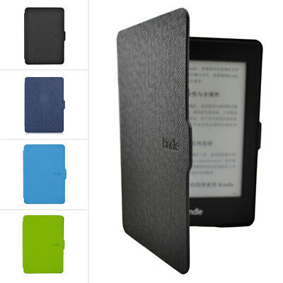 Smart Magnetic Sleep E-Book Readers Leather Case Cover For Kindle Paperwhite