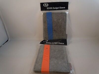 Scion Car Auto Show Gadget Sleeve Collectible  LOT OF 2
