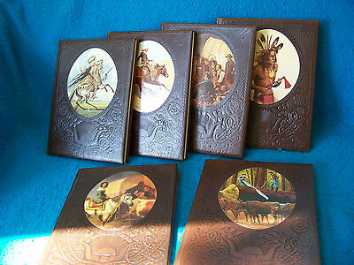 "Time Life Book Series FIVE Volumes ""The Old West"""