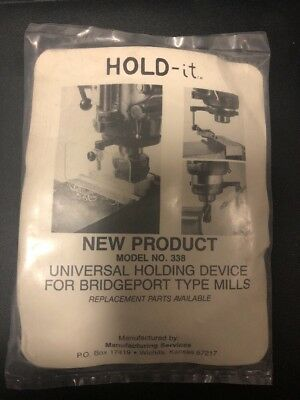Hold-it Holding Device For BrIdgeport Mill