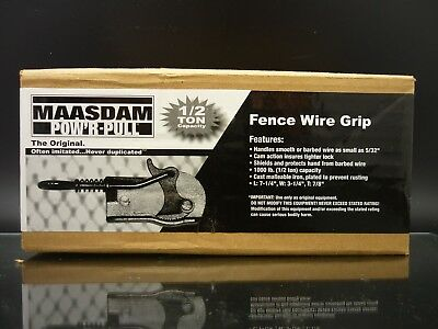 Maasdam Fence Stretcher Brand Pounds Shields And Protects Hand Model 8050-10 NEW