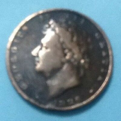 1826 Farthing In Very Good Condition.