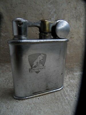 ancien BRIQUET à Essence PEUGEOT MYON 201 Petrol lighter