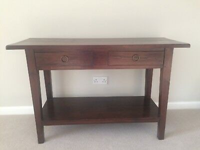 Laura Ashley Console Table, Mahogany Colour, Solid Wood