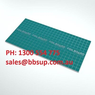Foilboard 2440 x 1200 x 25mm - Insulation - Ceiling - Wall - Underfloor