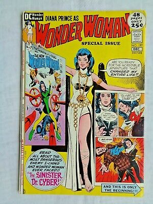 Wonder Woman No. 197 Diana Prince Nov-Dec 1971 DC Comics First Printing VF (8.0)