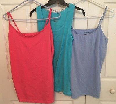 Lot Of 3 Women's Camis Tanks - Size Xl - Jessica London Lady Hathaway