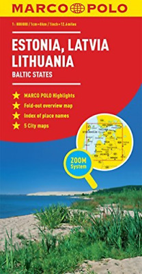 Estonia,latvia,lithuania Marco Po  Book New