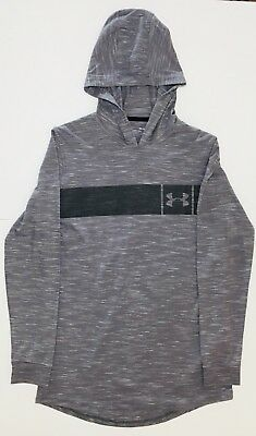 Men/'s Under Armour 1306490 Sportstyle Core Hoodie Black//Graphite Size Medium NWT