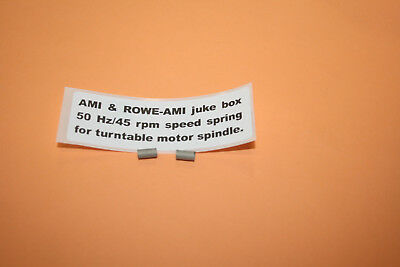 AMI  & Rowe juke box turntable 45 rpm 50 Hz spring mdl F on. HARD TO FIND!  NEW!