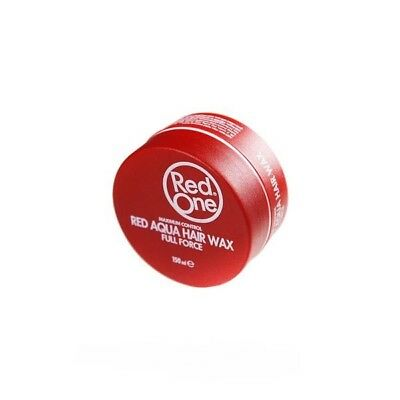 Red One Red Water Based Aqua Hair Wax 150 ml Full Force**GENUINE** SAME DAY POST