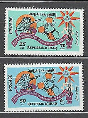 Iraq - Mail Yvert 634/5 Mnh