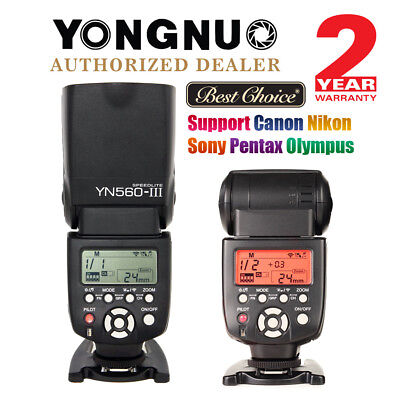 YONGNUO YN560 III Wireless Manual Speedlite Flash for Canon Nikon Olympus UK