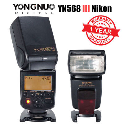 Yongnuo YN568EX III Wireless HSS i-TTL AF Assist Flash Speedlite for Nikon UK
