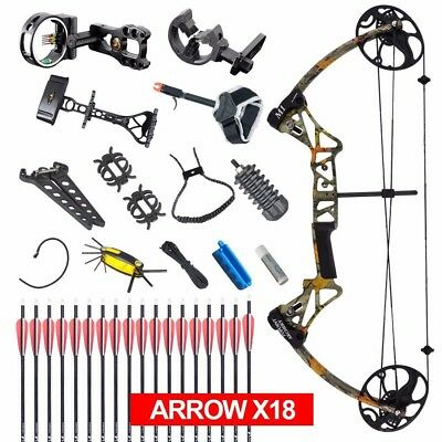 Compound Bow M1 19 30 Draw Length 19 70lbs Draw Weight 320fps Ibo