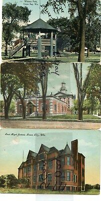 Green Bay Wisconsin WI 3 Views Park School Courthouse