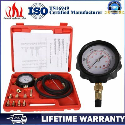 500PSI Auto Transmission Oil Pressure Tester Gauge Engine Diagnostic Test Tool