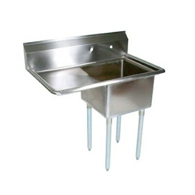"""John Boos E Series Stainless Steel Sink 12"""" Deep 1 Compartment Commercial Use"""