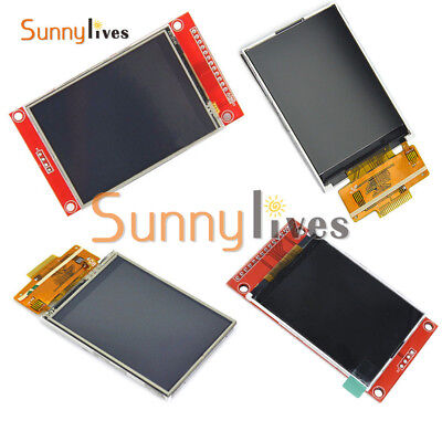 "2.4"" 240x320 SPI Serial TFT LCD 3.3V 5V PCB ILI9341 Driver ± Touch Screen"