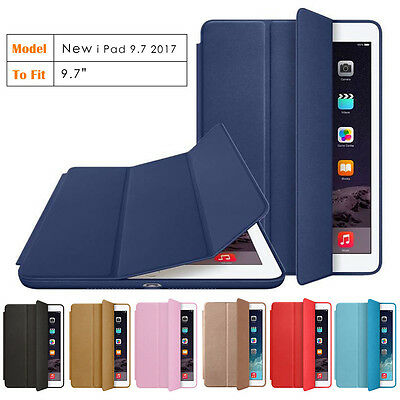 "For New Apple iPad 9,7"" 2018 version Case Leather Pouch Tablet Case Cover A1893"