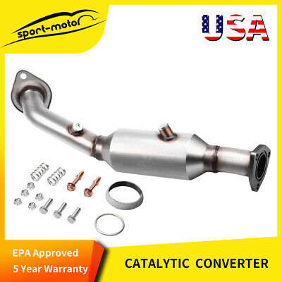 "Catalytic Converter 99205HM Weled-on Heavy Metal Series Round 2.25"" IN/OUT OBDII"