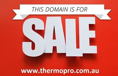 Premium Business Domain | www.thermopro.com.au | ThermoPro Domain For Sale