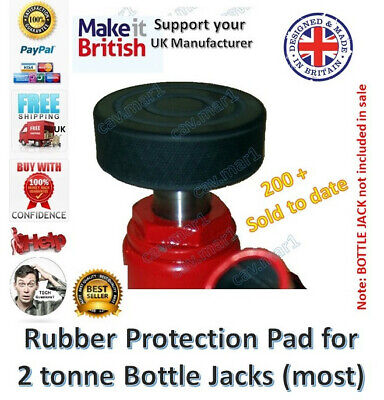 4x Rubber Protection Pad for your SGS JSR2 Axle Stand Rachet Type Classic car