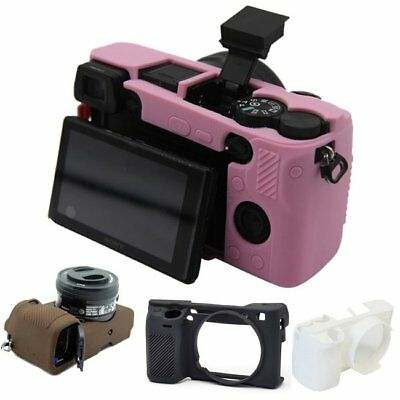 Skin Armor Case Silicone Protector Cover For Sony Alpha A6300 Mirrorless Camera