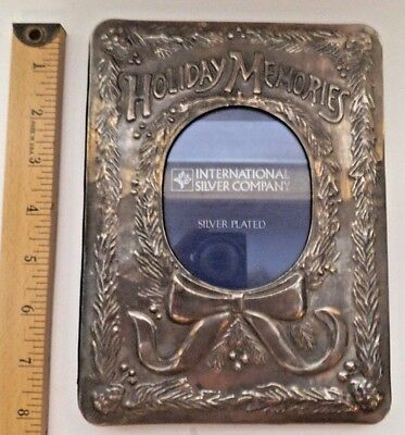 Vintage Holiday Memories International Silver Plated Company Photo