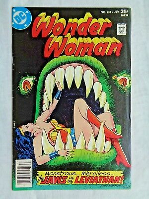 Wonder Woman Vol 36 No. 233 July 1977 DC Comics First Print Bronze Age VF- (7.5)