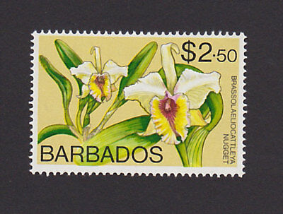 Barbados 409 VF MH Flower