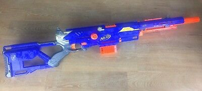Nerf Gun Longstrike CS-6 Sniper Rifle Fully Working With Clip & Sniper Barrel
