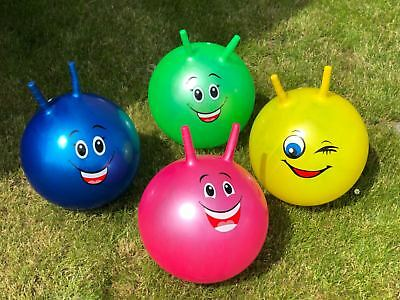 """22"""" Large Inflatable Kids Space Hopper Jump Bounce Retro Ball Rideon Outdoor"""