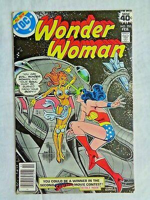 Wonder Woman Vol. 38 No. 252 February 1979 DC 1st Printing Bronze Age VF+ (8.5)