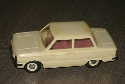 vintage 1:18  zaz  968M ukrainian electromechanical toy car from ussr
