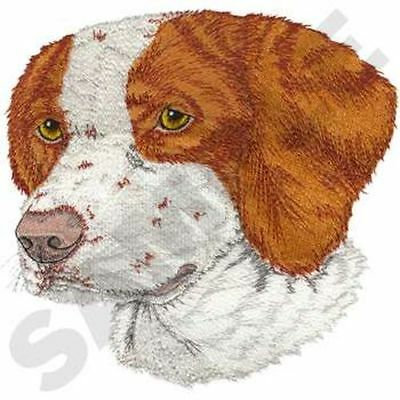 """Brittany Dog  Embroidered Patch 7.9"""" x 7.6"""""""