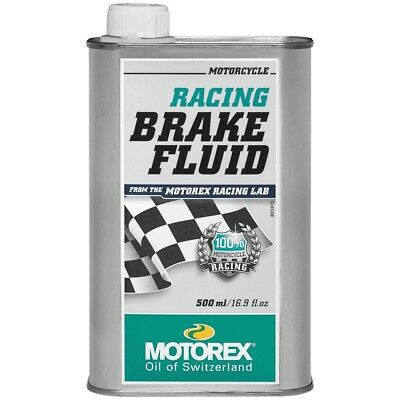 Motorex NEW Mx 500ml Motocross Dirt Bike Motorcycle Racing Brake Fluid