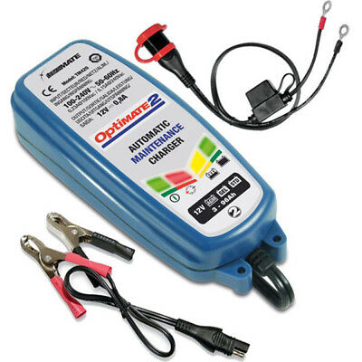 TecMate NEW Mx Optimate 2 12V Motorcycle Dirt Bike Battery Maintainer Charger