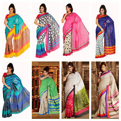 Wholesale lot of 50 Bhagalpuri Cotton Sari