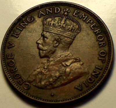 British Honduras, 1926 George V Cent. 50,000 Mintage.