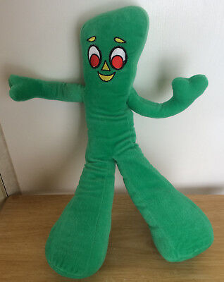 Gumby Plush Toy Green Stuffed Animal 2000 Nanco