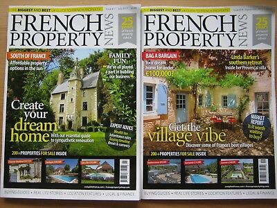 French Property News magazine July & September 2017 Linda Barker Villa Provence