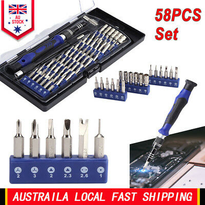 Electronics Screwdriver Set 58 in1 Precision Magnetic Driver Kit Repair Tool