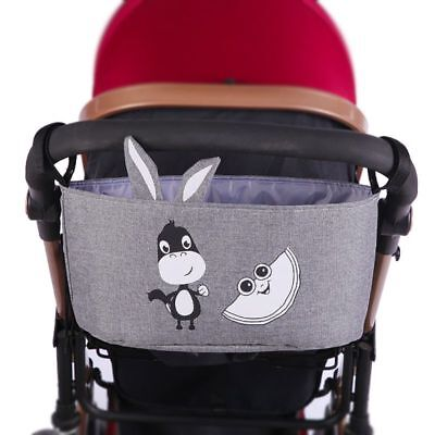 1PC Baby Stroller Cute Organizer Bag Storage Large Space Hooks Hanging Bags Hot