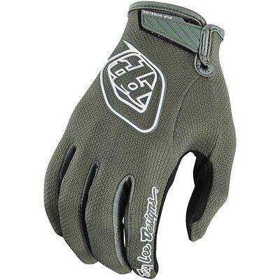 NEW Troy Lee Designs 2019 MX Air 2.0 Army Green BMX MTB Trooper Motocross Gloves