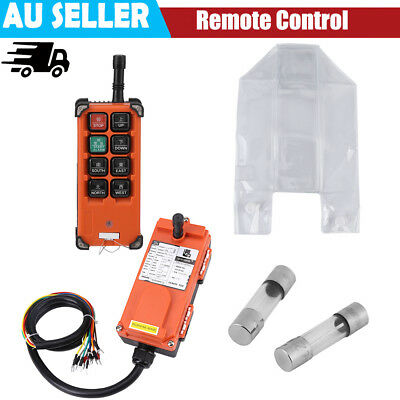 DC 24V 5A Hoist Crown Block Radio Control System Remote Controller + Receiver