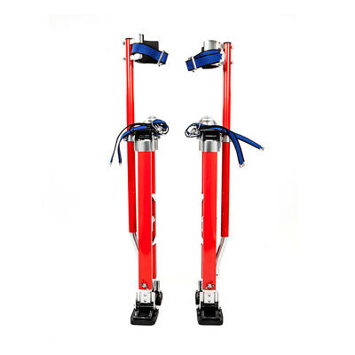 """Red Drywall Stilts Highest Quality Taping Finishing Adjustable 20"""" to 40"""""""