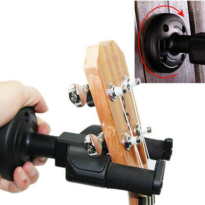 Guitar Wall Mount Hanger Stand Holder Rack Hooks Display Acoustic Electric Bass