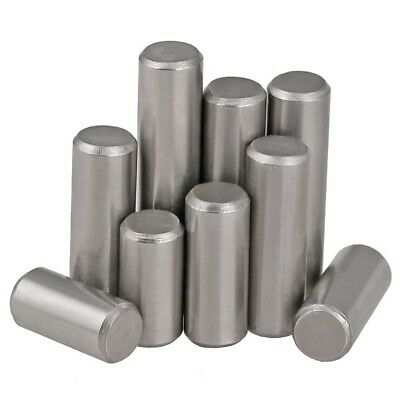 M3 x 12mm A2 304 Stainless Steel Metric Solid Dowel Pin Rod Position Pins